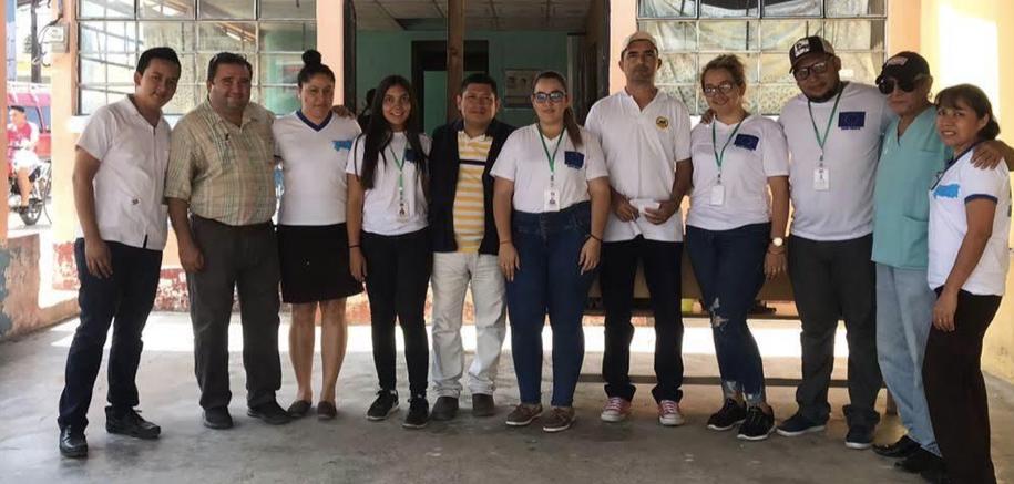 Jornada de la salud, con equipo local del Ministerio de Salud Pública, en el Municipio de Rio Hondo Zacapa.